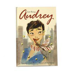 Audrey Hepburn Book Clock