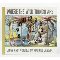 Where the Wild Things Book Clock