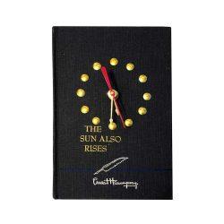 Ernest Hemingway Book Clock